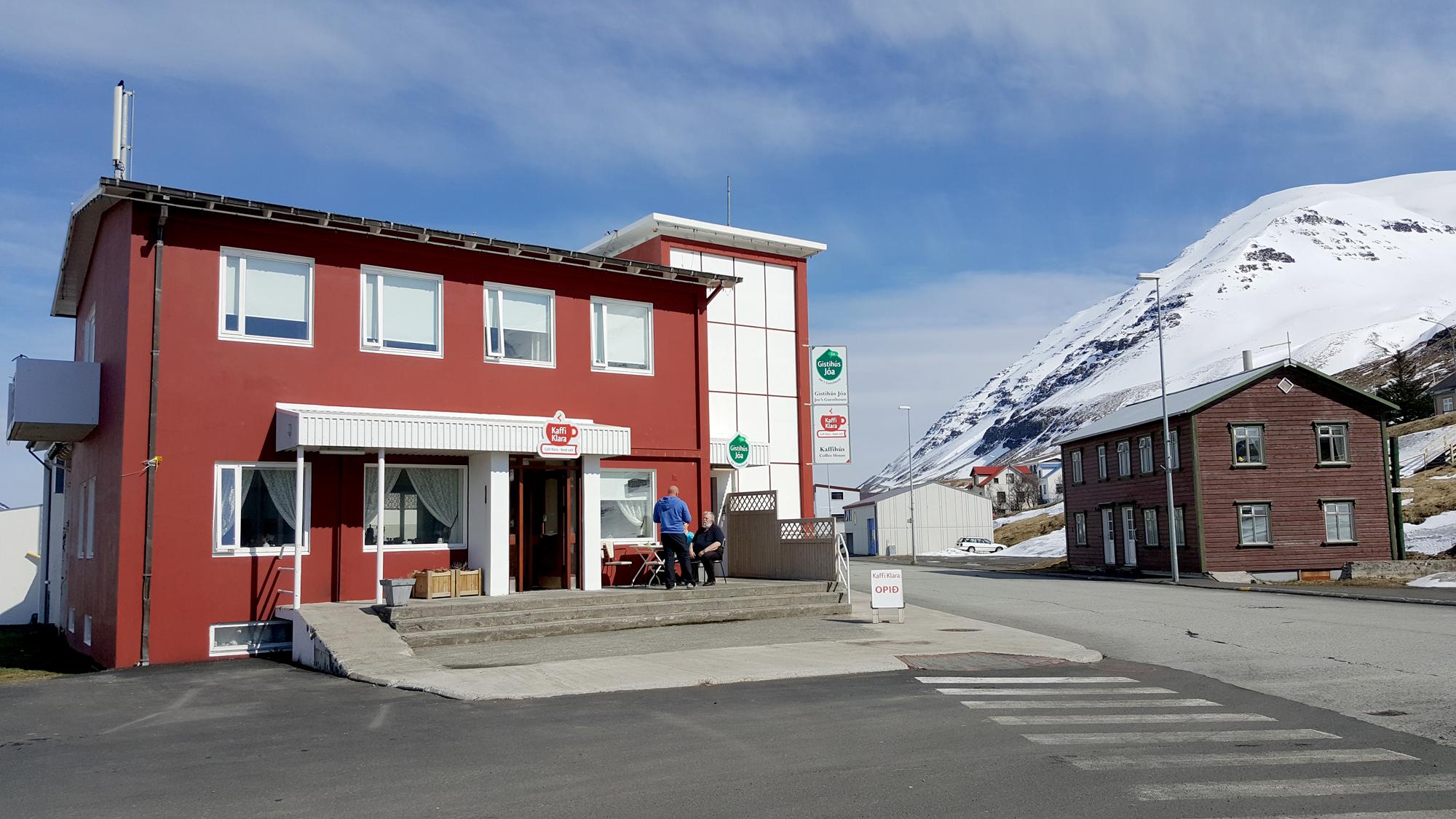 Guesthouse in Ólafsfjörður in North Iceland