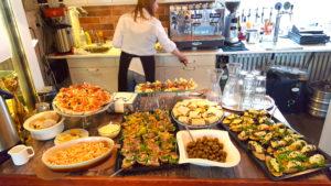 Menu Restaurant Cafe